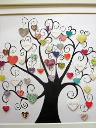 mini button class tree this is a wonderful idea for a family