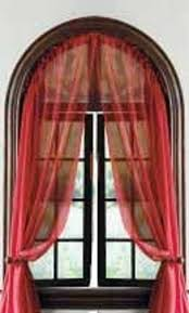 Curved Window Curtains Curved Window Curtain Rod 7 Superb Arched Window Curtains