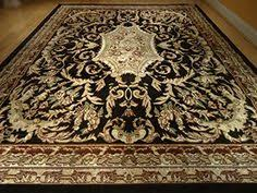 Quality Rugs Large 8x11 Persian Style Rug Oriental Rugs Black Area Rug 8x10