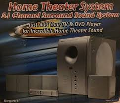 durabrand home theater system amazon com regent model ht 391 5 1 powered 130w home theatre