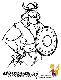 viking ship coloring page side view pages hellokids to of