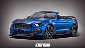 2016 Cobra Mustang Shelby Gt350r Mustang Convertible Rendered The Odds Of Getting A
