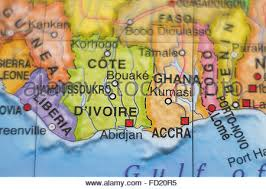 map of abidjan cote d ivoire abidjan stock photo royalty free image 35392095