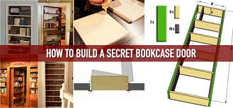 How To Make Invisible Bookshelf How To Build A Secret Bookcase Door