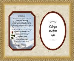 quotes en espanol del amor spanish memorial female poem remembrance photo frame 9