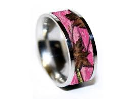 camo wedding ring beautiful pink camo wedding rings c bertha fashion
