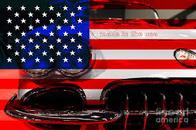 corvette made in america made in the usa chevy corvette photograph by wingsdomain and