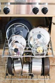 Cabinet Organizers For Pots And Pans 11 Clever And Easy Kitchen Organization Ideas You U0027ll Love