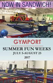 summer fun at gymport gym in sandwich 43 off one week full day
