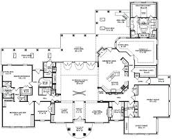 country house plans one story plans small 5 bedroom house plans