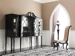 mistique ii black china cabinet
