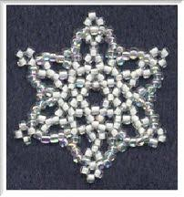 71 best snowflake crafts images on beaded ornaments