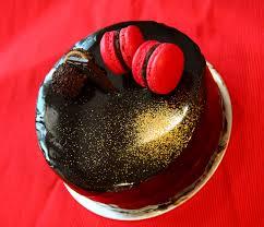 sherbakes chocolate glazed cake
