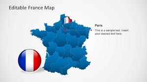 editable france map template for powerpoint slidemodel