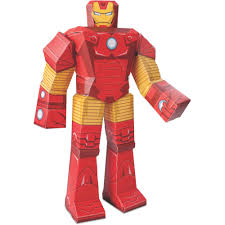 iron man blueprint papercraft inch figure walmart com online