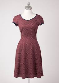 vintage dresses circus the tara pindot dress in for women vintage dresses