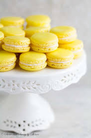 lemon french macarons sweet u0026 savory by shinee