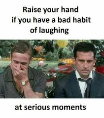 Stupid Internet Memes - raise your hand if you have a bad habit of laughing at serious