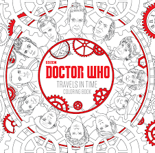 check out the new u0027doctor who u0027 coloring book