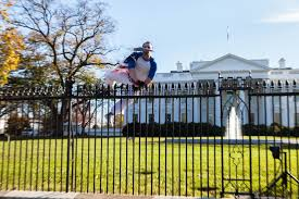 thanksgiving white house fence jumper released with restrictions
