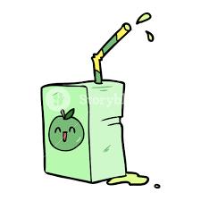 cartoon apple juice box royalty free stock image storyblocks