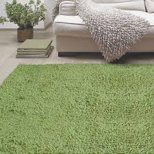 green shag 5 x 8 area rugs rugs the home depot