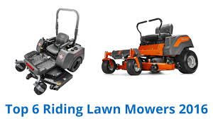 6 best riding lawn mowers 2016 youtube
