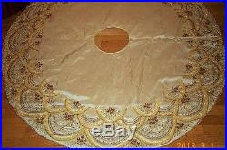 gold tree skirt gold christmas tree skirts free shipping large 50looking like