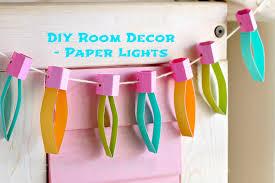 DIY Kids Room Decor Paper Lights Munchkin Time - Diy kids room decor