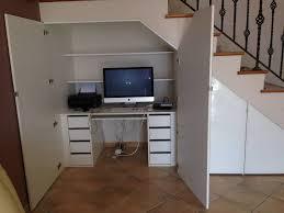 am agement bureau sous escalier aménagement sous escalier avec façade en verre laqué vente de