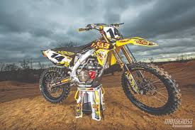 we ride davi millsaps u0027 never used suzuki rm z450