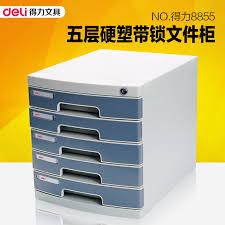 Plastic File Cabinet Buy Deli 8855 Five Lockable File Cabinet File Cabinet A4 Paper