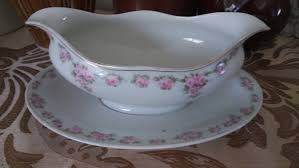 vintage china with pink roses vintage china white gravy boat with pink roses in attached drip