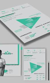 free self promotion free cv resume psd template graphic design