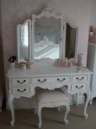 Antique White Vanity Set Antique White Makeup Vanity Antique Furniture