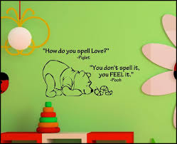 winnie the pooh wall decals home decorations ideas image of amazing winnie the pooh wall decals