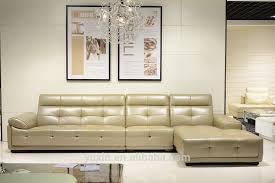 dubai sofa furniture top grain leather corner sofa luxury italian