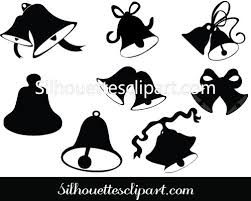 bells silhouette clip art pack free download christmas icon