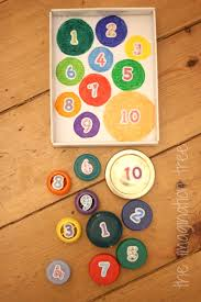 Fun Games For Kids At Home by Bottle Top Count And Match Game The Imagination Tree