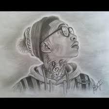 wiz khalifa draw amazing doodle pencil sketch illustratio u2026 flickr