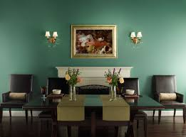 Dining Room Wall Color Ideas Green Dining Room Decor Donchilei Com