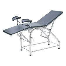 ob gyn stirrups for bed or massage table portable stainless steel obstetric gynecological ob gyn exam table