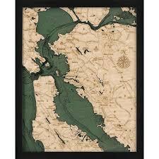 san francisco map framed best 25 nautical framed ideas on diy nautical