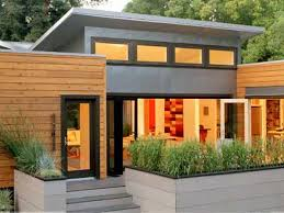 great exterior modern small houses designs with wide glass windows