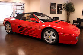 ferrari transformer used 1995 ferrari 348 stock p3702 ultra luxury car from merlin