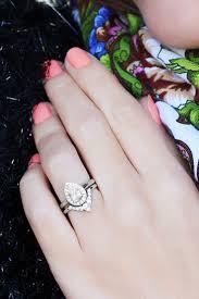 Pear Shaped Wedding Ring by Engagement Rings Heart Shaped Wedding Rings Bridal Set Beautiful