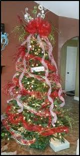 deco mesh ribbon how to decorate a christmas tree with deco mesh ribbon 9 ts1 us