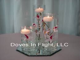 Bulk Cylinder Vases Cylinders With Floating Roses With Or Without Rose Petals 3