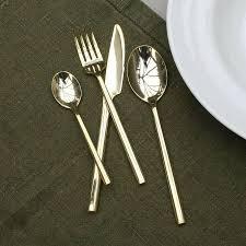 100 luxury cutlery matte gold cutlery matte gold cutlery