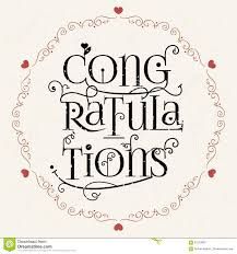 congratulation poster retro style congratulations logotype icon congratulations banner